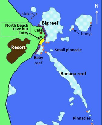 Lahami Bay Best Snorkeling In Red Sea - Map of egypt beach resorts